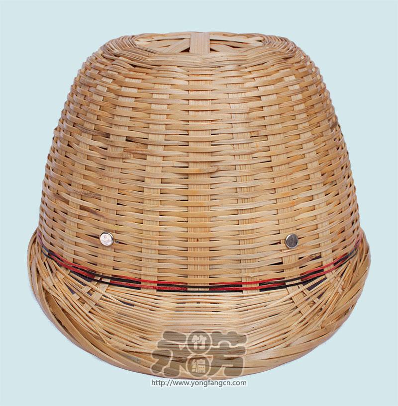 黄丝 单层 帽子 竹编
