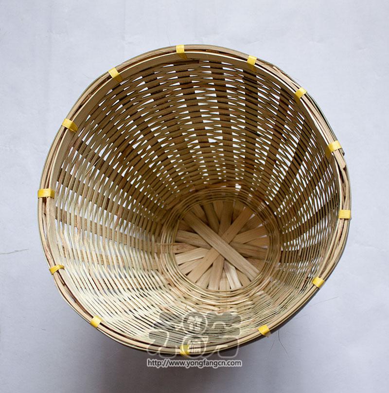竹编 花盆