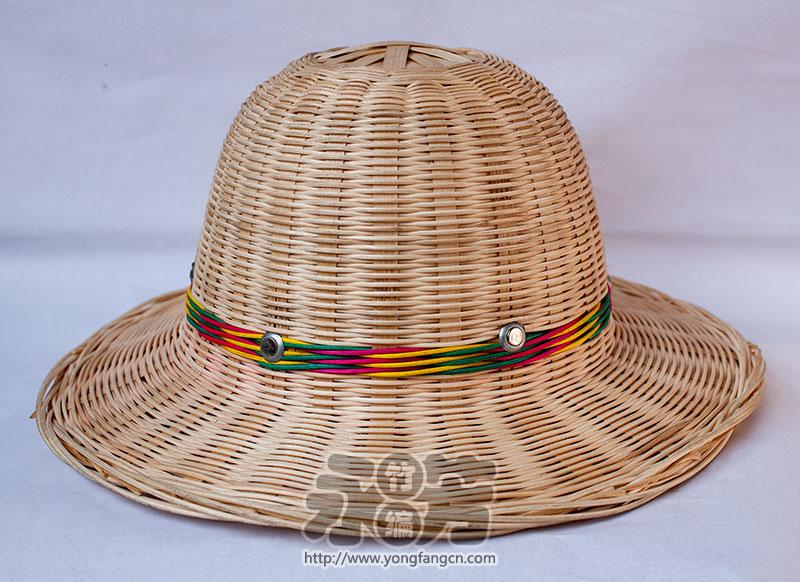 藤编 圆帽