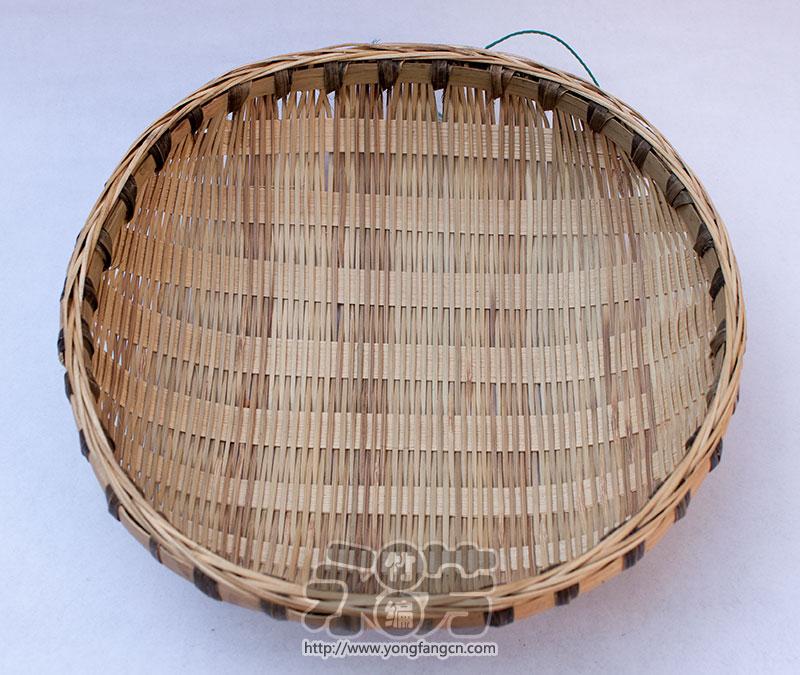 簸箕圆型竹编